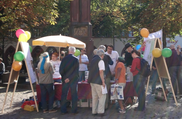 FoP-Infostand am 24.09.2011