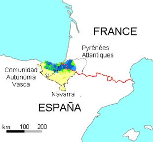 Baskisch Sprache