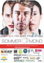 Sommermond Plakat