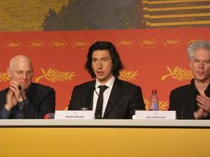 Cannes Paterson Jarmusch Adam Driver World Premiere 2016