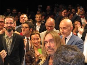 Iggy pop in Cannes Jarmusch Gimme Danger Premiere Film Festival 2016
