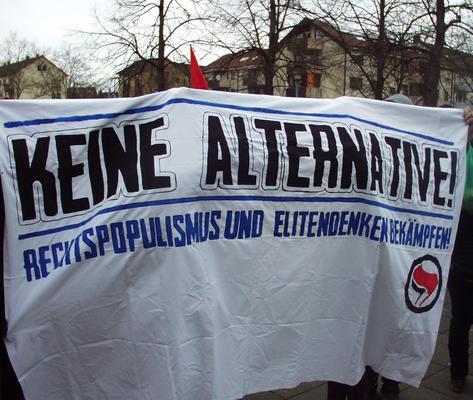 Keine Alternative! Rechtspopulismus und Elitedenken bekämpfen!