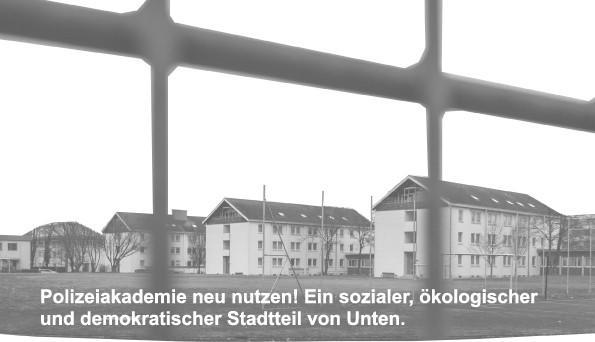 Initiative für eine Neugestaltung der Freiburger Polizeiakademie.