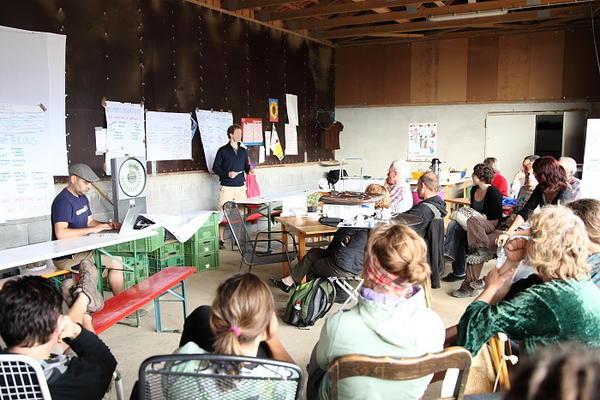 Die GartenCoop gestaltet Agrikultur