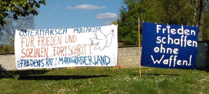 Ostermarsch Müllheim 2014