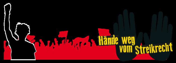 Hände weg vom Streikrecht!