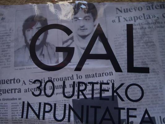 Bis heute straffrei - Die GAL ermordete 1983 unter anderem die beiden ETA-Mitglieder Joxean Lasa und Joxi Zabala.
