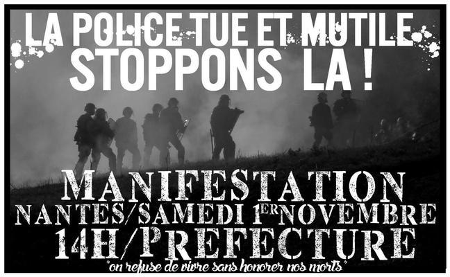 Die Polizei tötet und verstümmelt - Stoppen wir sie!