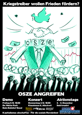 Kriegstreiber wollen Frieden fördern? OSZE angreifen!