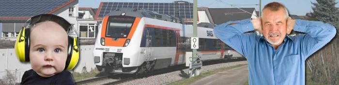 Bahnlärm im Münstertal