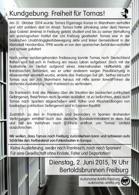 Kundgebung für Freiheit von Tomas Elgorriaga Kunze
