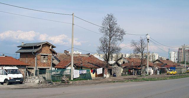 Roma-Ghetto in Filipovtsi, Sofia