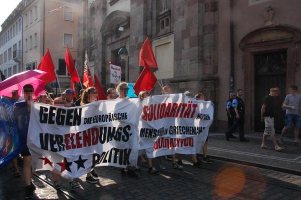 Gegen die deutsch-europäische Verelendungspolitik!