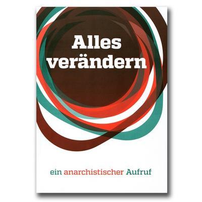 """Cover des Infohefts von """"Alles verändern"""""""