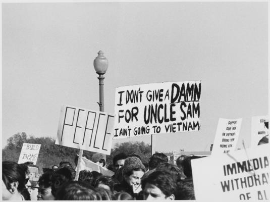 Anti-Vietnamkriegs-Demo Washington 1967