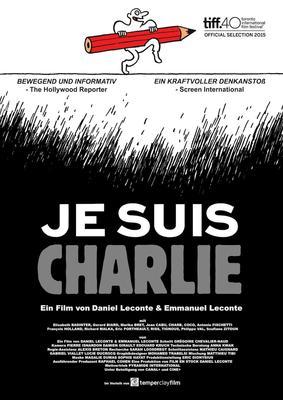 Filmplakat zur Doku Je Suis Charlie.