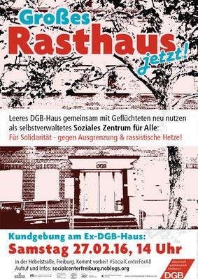 Außer Wohnungen braucht es auch Räume zur Selbstorganisation. Derzeit werden sie in vielen Städten gefordert - auch in Freiburg