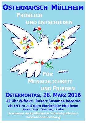 Ostermarsch 2016 Müllheim/Baden