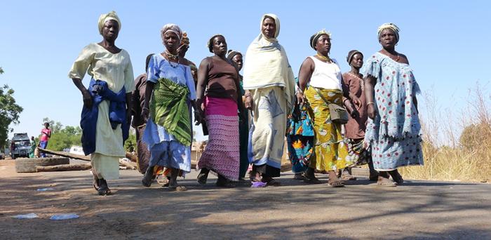 Die Friedensmacherinnen in der Casamance - vor der Grenzblockade Gambia