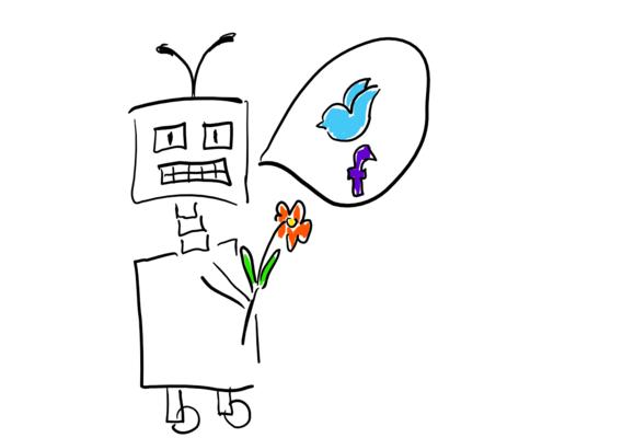 sozialer Roboter