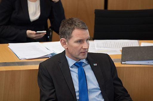 Björn Höcke im Thüringer Landtag.