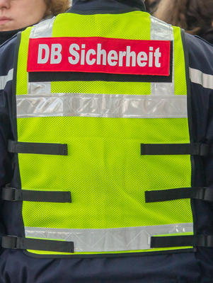 Mitarbeiter der DB Sicherheit