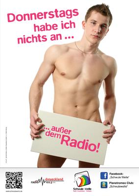 Schwule Welle Plakat