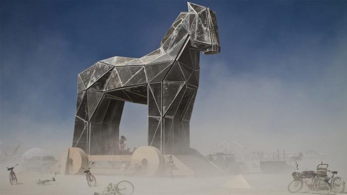 Trojanisches Pferd (Burning Man Festival, Nevada)