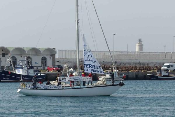 Fähren statt Frontex!