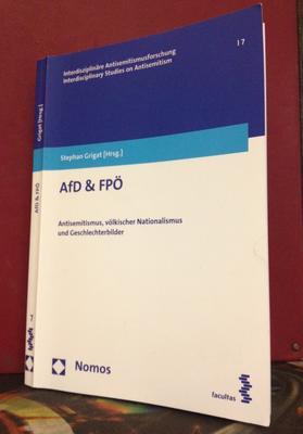 AfD & FPÖ. Antisemitismus, völkischer Nationalismus und Geschlechterbilder
