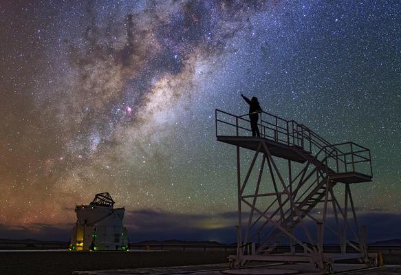 Der Kosmos über uns