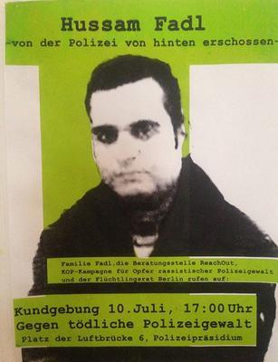 Plakat Kundgebung
