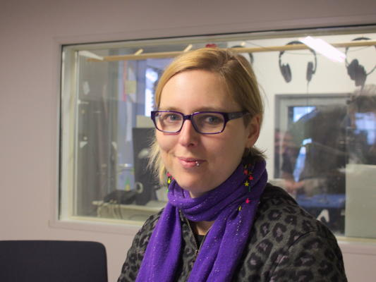 Judith Goetz im Studio
