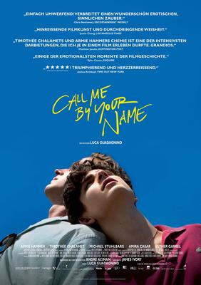 Call Me By Your Name Filmplakat