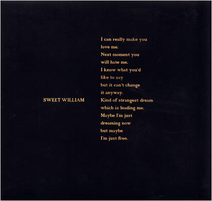 sweet william - kind of strangest dream
