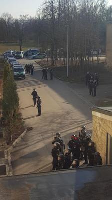 Polizeieinsatz in Donauwörth, 14. 03. 2018