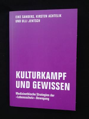 Buchcover von 'Kulturkampf und Gewissen'