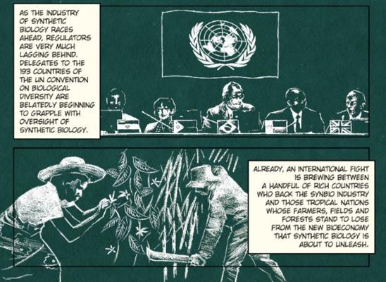 Comic Auszug