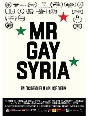 Mr. Gay Syria Plakat
