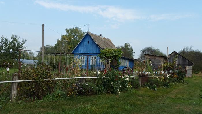 Polesisches Dorf Kudritschi