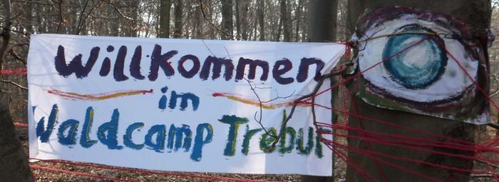 Die Treburer Waldbesetzung am Frankfurter Flughafen wurde geräumt