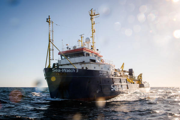 Das Schiff Sea Watch 3