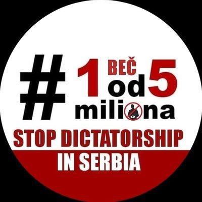 """Logo des Demonstraitonsbündnisses """"Einer von fünf Millionen"""""""