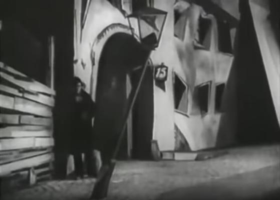 "Szene aus dem Film ""Raskolnikow"" von Robert Wiene"