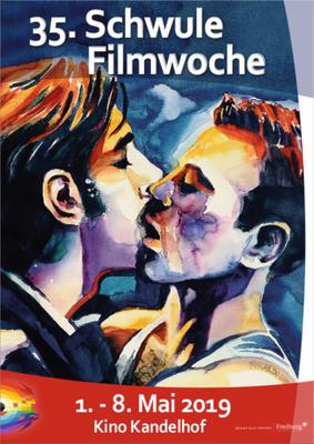 Schwule Filmwoche 2019 Plakat