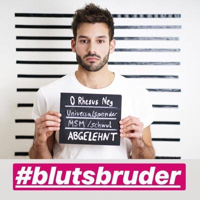 #blutsbruder Mr. Gay Germany Kampagne