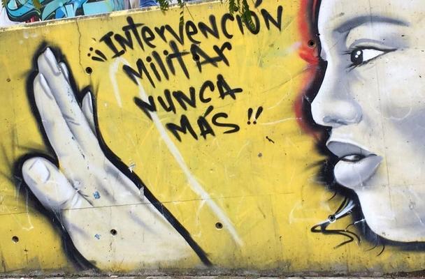 Murales in Bogotoa