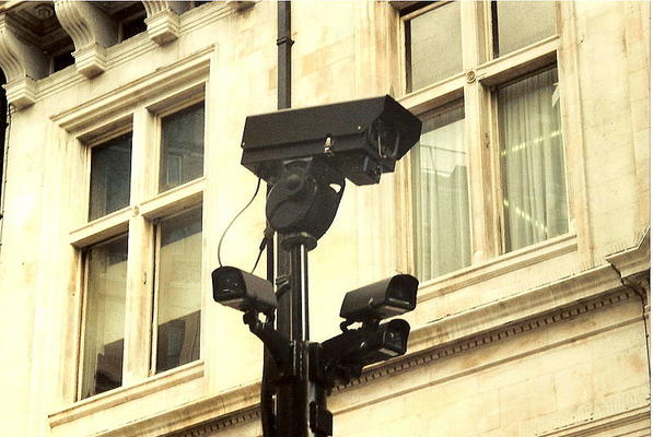Cameras innercity London 2005