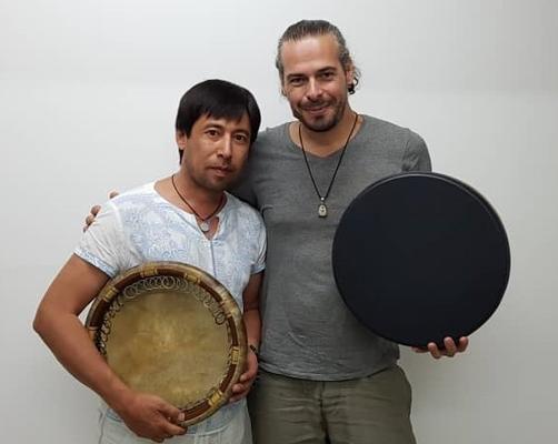 Khayrullo Dadoboev und Andrey Tanzu
