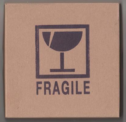 """Cover der DVD """"Fragile"""", Glasotronic Ensemble"""